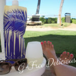 Relaxing At the Resort with My Wine to Go
