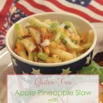 Apple Pineapple Slaw with Honey Mustard Dressing