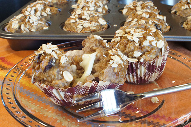 Gluten-Free Food: Gluten-Free Cranberry, Toasted Walnut & Oatmeal Muffins