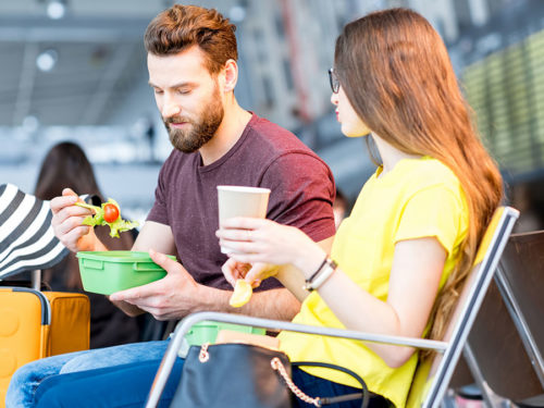Gluten-Free Travel - Couple Eating