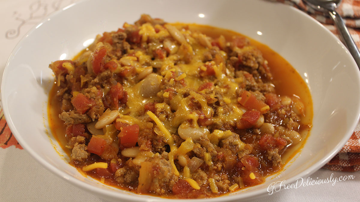 Hearty, Healthy Turkey Pumpkin Chili