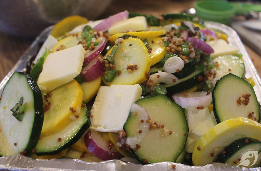 Zucchini & Summer Squash Grill Packets Step 2