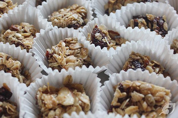 Cherry Almond Granola Bites