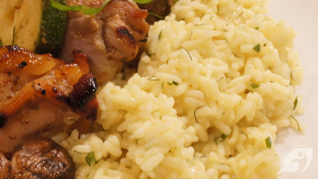 Quick Curry Rice with Fennel & Onion
