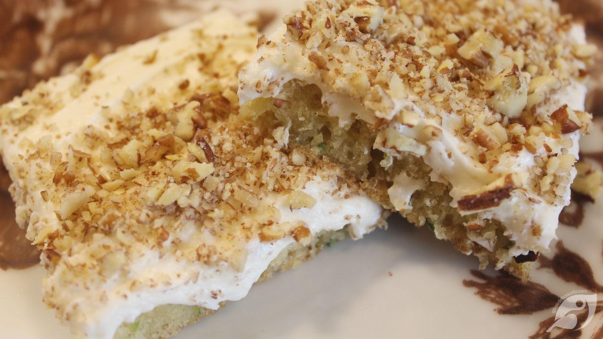 Gluten-Free Zucchini Nut Bars