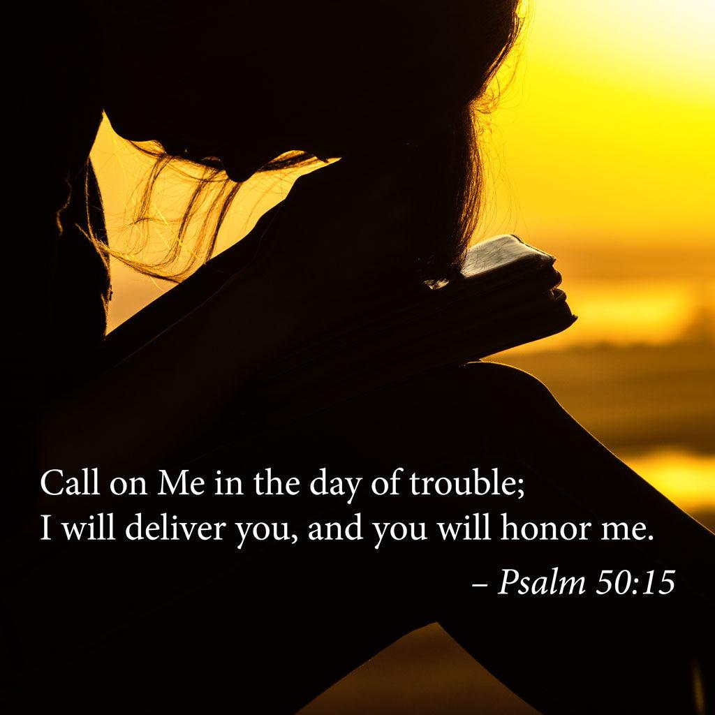 Call Me... Psalm 50:15