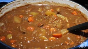 Chocolate & Port Beef Stew