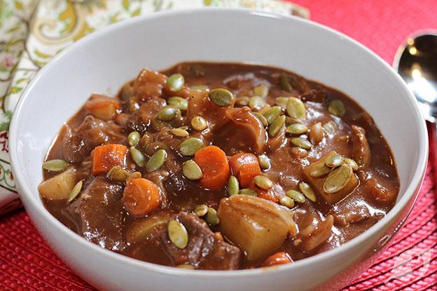 Gluten-Free Food: Chocolate & Port Beef Stew