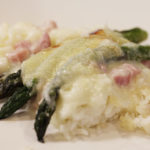 Gluten-Free Food: Asparagus & Ham AuGratin Casserole