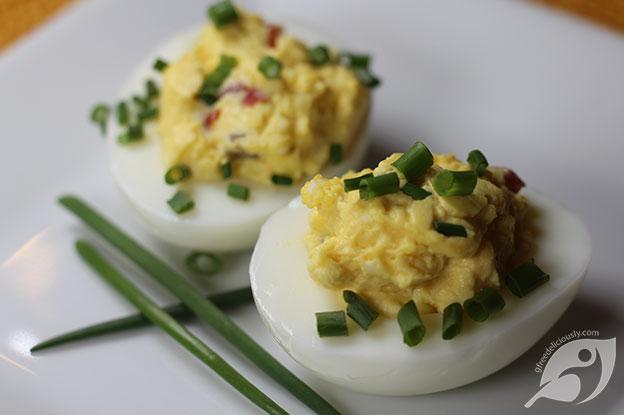 Gluten-Free Food: Jalapeno Deviled Eggs