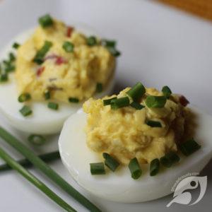 Jalapeno Deviled Eggs