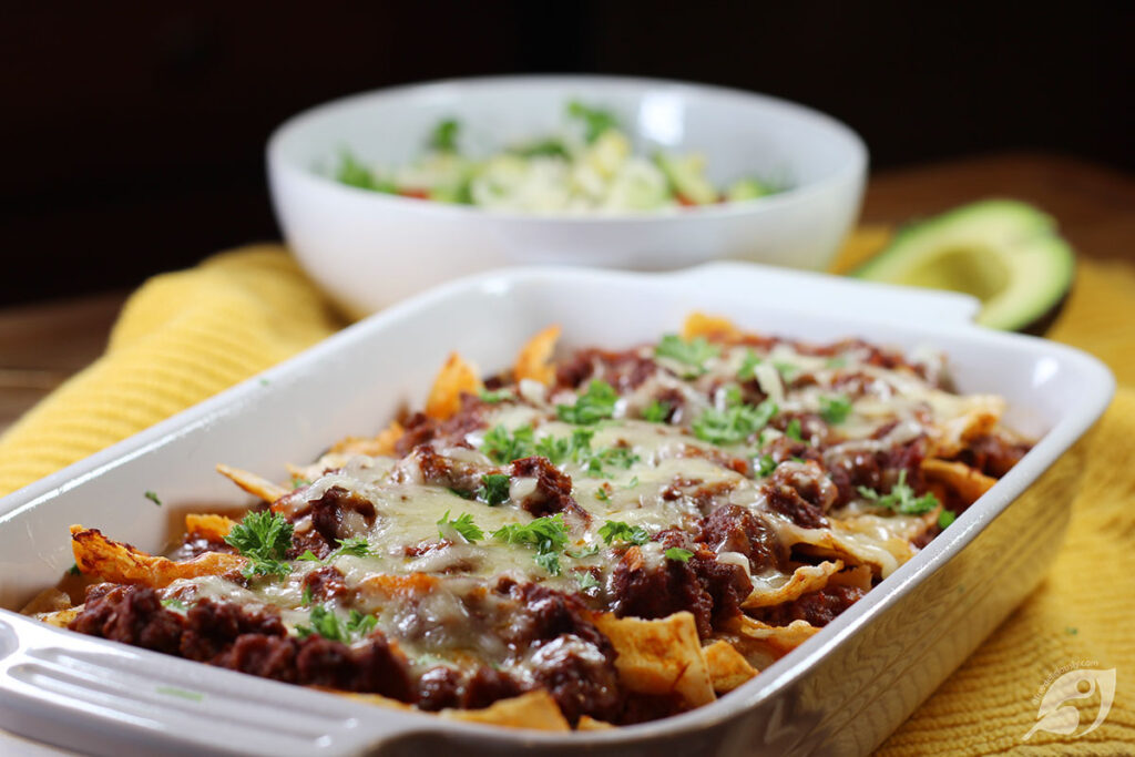 Easy Beef Enchiladas with Homemade Red Sauce