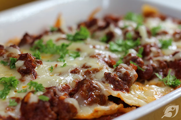 Gluten-Free Food: Easy Beef Enchiladas with Homemade Red Sauce