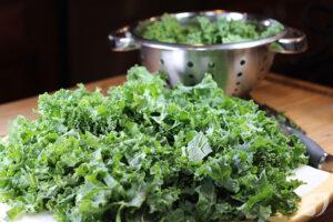 smaller-leaved kale