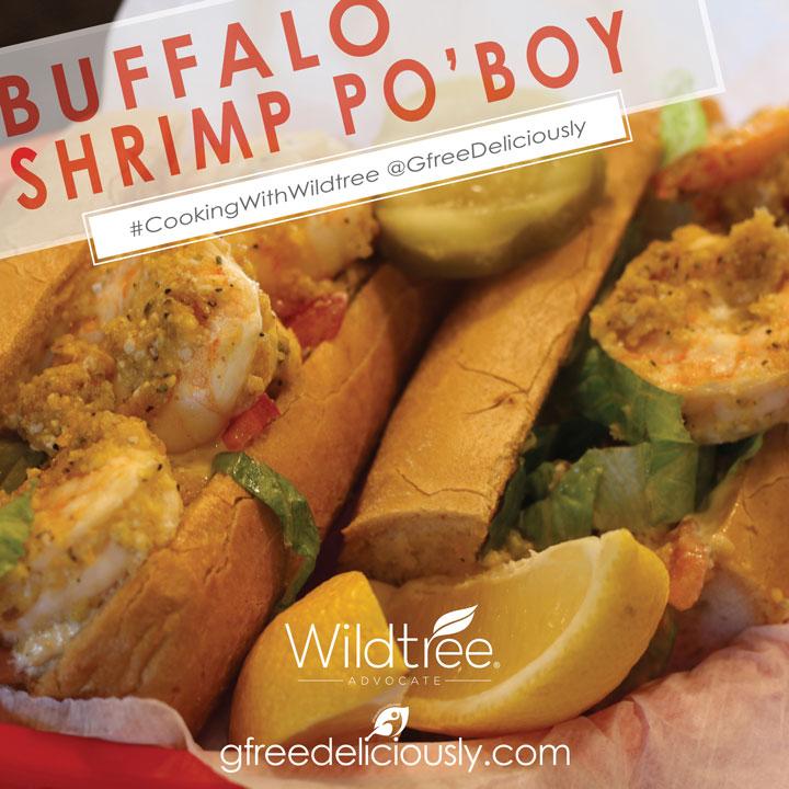 Buffalo Shrimp Po'Boy social share image