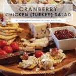 Cranberry Chicken (Turkey) Salad social share image