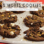 S'mores Cookies, social share graphic