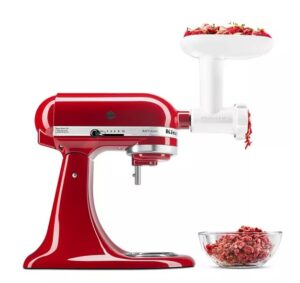 Metal Meat Food Grinder Attachment for KitchenAid Stand Mixer