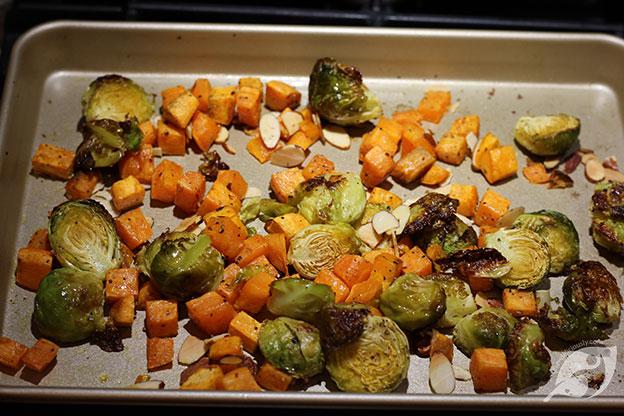 Roasted Veggie & Wild Rice Buddha Bowls step5