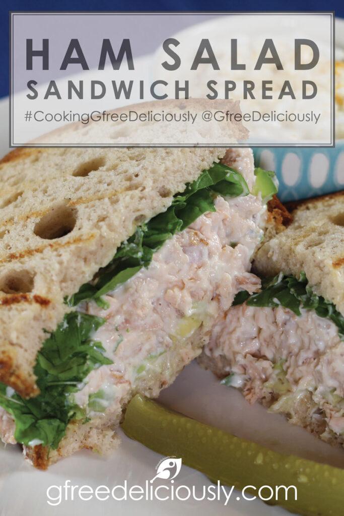 Ham Salad Sandwich Spread Pinterest Share 800x1200px