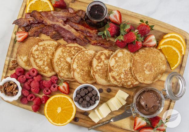 Gluten-Free Pancake Board