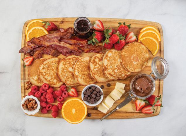 Gluten-Free Pancake Board (Breakfast Charcuterie Platter)