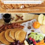 Gluten-Free Pancake Board (Breakfast Charcuterie Platter) Pinterest share graphic 800x1200px